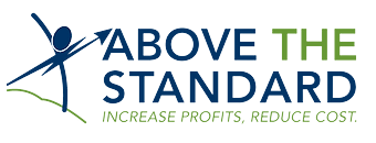 Above the standard Logo