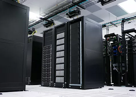 Photo of server room