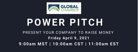 Image with text for Power Pitch